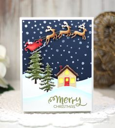 Hi crafty friends! One of my favorite card making techniques is coloring die cuts. I love this technique because it stretches products I already have with a new look and loads of flexibility. Today…