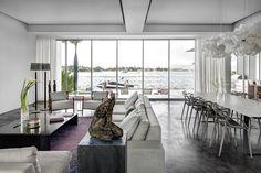 HGTV Fresh Faces of Design - Big City Digs: Modern Miami Bayside Home by Max Strang >> http://www.hgtv.com/design/fresh-faces-of-design/2015/big-city-digs?soc=pinterest