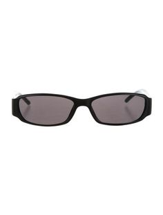 Tinted Rectangular Sunglasses