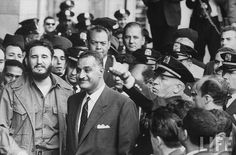 Nasser and Fidel in the UN by Kodak Agfa, via Flickr