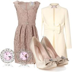 """LOVE the coat. So much.    """"Pink Vintage"""" by megan-jolley on Polyvore"""