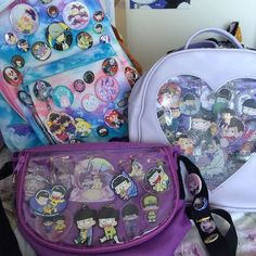 Just uploaded a video on my ita bags and how to make your own! #itabag #osomatsusan