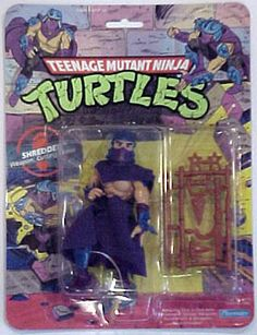 Teenage Mutant Ninja Turtles Action Figures: Shredder