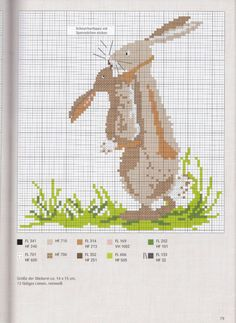 Cross-stitch Loving Momma Bunny, part 2... Gallery.ru / Фото #69 - Вышивка 71 - kuritsa-kusturitsa
