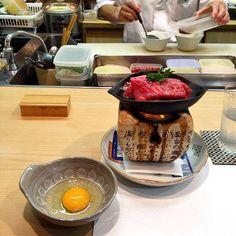 Saga wagyu beef sukiyaki at Iroha in Osaka Japan. Kobe Beef is the most well-known but Saga and Matsuzaka are equally prized. They're the big 3 of elite Japanese beef brands. ------------------------------------------------- #saga #wagyu #osaka #japan #michelin #sukiyaki #sagabeef #willflyforfood #kaiseki #lonelyplanet #tripadvisor #buzzfeast #foodbeast #f52grams #huffposttaste #EEEEEATS #FEASTAGRAM #food52 by flyingforfoodnow