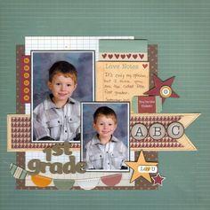 1st Grade - Scrapbook.com .....Wendy Schultz onto Digital Art.