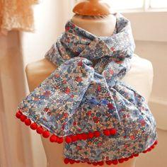 Foulard liberty flower tops