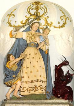 MADONNA DEL SOCCORSO O DEL TACCARIELLO  Una tela della Madonna del Soccorso del pittore Paolo de Matteis è presente nel museo diocesano (polo museale) di Ascoli Satriano.
