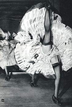 French Cancan - Moulin Rouge - Paris 1960s by Nico Jesse