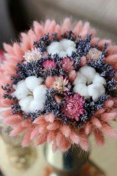 New Wedding Flowers Bouquet Purple Pink Ideas Most Beautiful Flowers, Pretty Flowers, Flowers Dp, Bride Bouquets, Flower Bouquet Wedding, Flowers Nature, Dried Flowers, Arte Floral, Planting Flowers
