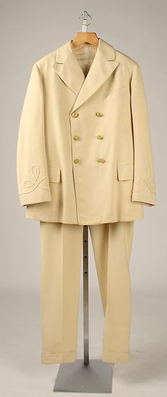 Suit, Lind and Stevens, 1917; MMA 1982.422.33a-c