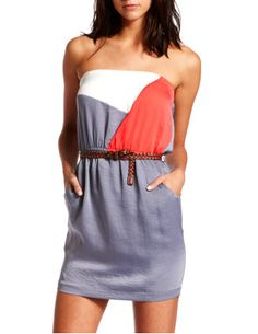 Casual Summer Strapless Dress