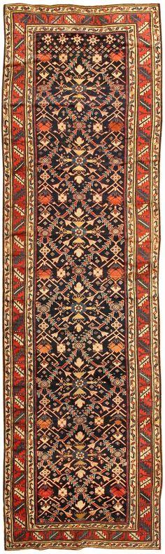 Antique Kazak Caucasian Rug 43820 Main Image - By Nazmiyal