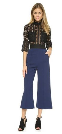 Bethenny Frankel's Lace Top Jumpsuit