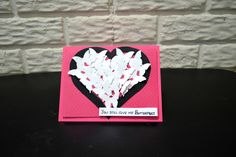Valentines Day Butterflies in Heart Card, You still give me Butterflies card, 3D Butterflies card, Valentines day card, Anniversary Card by NishsCreations on Etsy