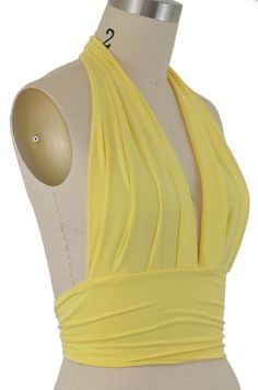 marilyn pinup halter top -note gentle pleats to manage fullness