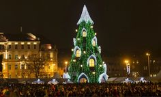 Árbol de navidad Vilnius 10 espectaculares árboles de Navidad de todo el mundo