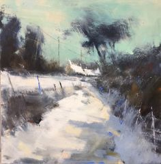Art Public auctions: Early American Art – Buy Abstract Art Right Abstract Landscape Painting, Seascape Paintings, Landscape Art, Landscape Paintings, Abstract Art, Oil Paintings, Devon, Painting Snow, Buy Art Online