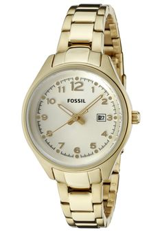 Price:$77.70 #watches Fossil AM4365, This stylish Fossil completes any outfit for a night out in town.