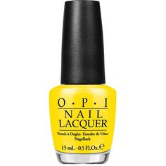 Opi I Just Can't Cope-Acabana (58 BRL) ❤ liked on Polyvore featuring beauty products, nail care, nail polish, beauty, nails, makeup, womens-fashion, yellow, opi nail lacquer and opi