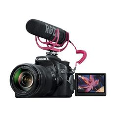 Canon EOS 70D DSLR Camera with EF-S 18-135mm STM Lens Video Creator... ($1,350) ❤ liked on Polyvore featuring camera