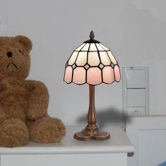 Lámpara de mesa Tiffany Pink II
