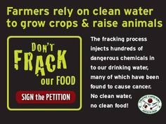 TAKE ACTION: Tell the Bureau of Land Management: Don't Frack our Food and Farms!