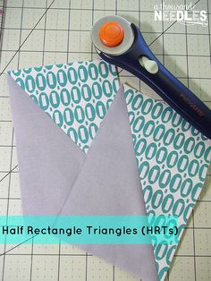 quilt: Half Rectangle Triangles || A Thousand Needles