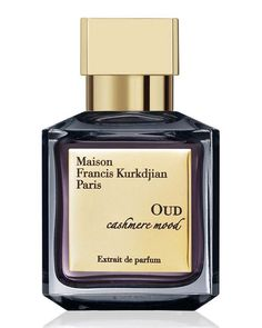Maison Francis Kurkdjian OUD cashmere mood, 2.4 fl. oz. DetailsOud from Laos, labdanum from Morocco, benzoin from Laos, and finished with vanilla, the Maison Francis Kurkdjian Oud Cashmere Mood is a w