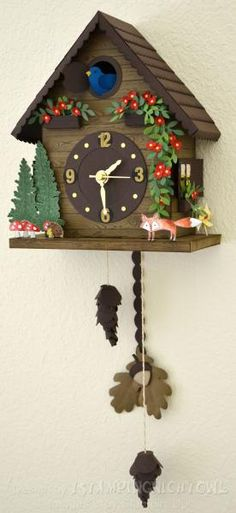 SUO - Real Working Cuckoo Clock from 1stampingnightowl cuckoo clocks