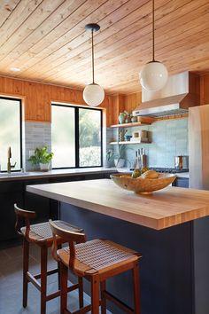 Taylor Jacobson Interior Design - Beverly Glen kitchen remodel detail