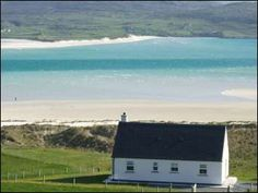 Luskentyre Cottage Isle of Harris self catering accommodation Outer Hebrides Scotland Solid Fuel Stove, Isle Of Harris, Picnic Set, Outer Hebrides, Tv In Bedroom, Sandy Beaches, Christmas And New Year, Garden Furniture, Catering