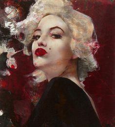 Lita Cabellut, 1961 | Mixed media Fresco style painter | Tutt'Art@ | Pittura * Scultura * Poesia * Musica |