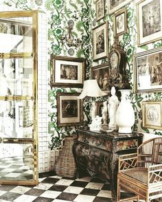 100 Best Interior Designers by Boca do Lobo and Coveted Magazine Spanish Interior, Interior Columns, Room Interior, Interior And Exterior, Interior Paint, Famous Interior Designers, Best Interior Design, Gothic Home, Zona Colonial