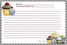 template for a recipe card | ... reply you can print this recipe card as a 4 x 6 photo on an index card