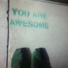 You awesome