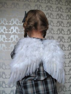 wings for the angel in our nativity play.