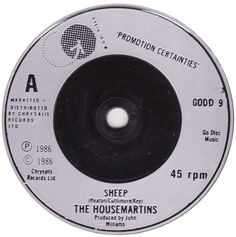 45cat - The Housemartins - Sheep / I'll Be Your Shelter (Just Like A Shelter) - Go! Discs - UK - GODD 9