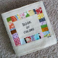 scrap fabric book of colors