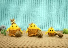 Lilliputian Cavepeople   20 Unbelievably Tiny Knitted And CrochetedThings