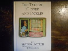 The Tale of Ginger and Pickles. Hardcover. by MarginaliaBooks