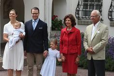Royal Family Around the World: Crown Pincess Victoria of Sweden Celebrates Her Birthday at Solliden Palace on July 14, 2016 in Oland, Sweden.