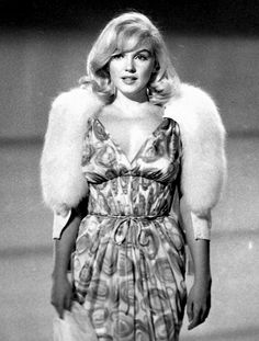 Marilyn Monroe in a costume test for The Misfits, 1960.