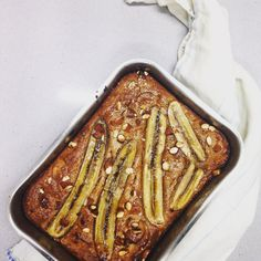 Banana bread made with almond butter #vegan #freefrom #glutenfree #vegetarian #healthy