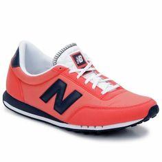 Orange nylon New Balance 410