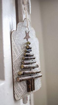 wooden Christmas tree ideas12