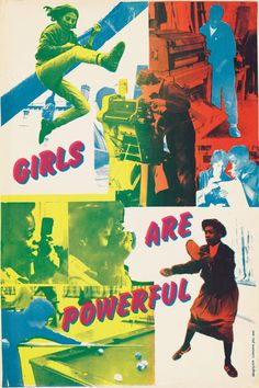 "<p>""Girls Are Powerful"" from <em>See Red Women's Workshop: Feminist Posters</em></p>"