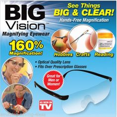 FREE shipping on these awesome products http://yabba-dabba-com.myshopify.com/products/1-new-big-vision-magnifying-eyewear-glasses-see-160-more-better?utm_campaign=social_autopilot&utm_source=pin&utm_medium=pin
