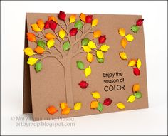 Paper Smooches Color of the Season Card