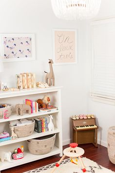 simple + cute nursery